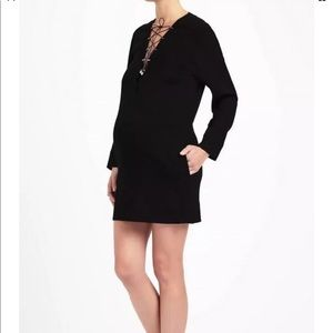 IRO Women Anicie V-Neck Lace Up Dress